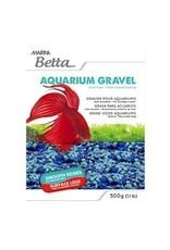 Aquaria Marina Betta Gravel - Tri-color Blue - 500 g