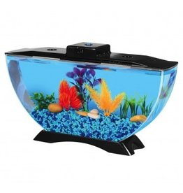 Aquaria Betta Deco View Aquarium Kit - 1 gal