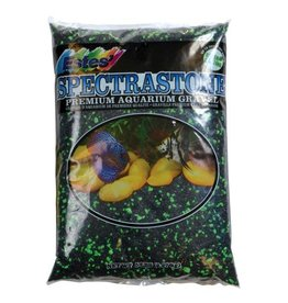 Aquaria PermaGlo Mini Gravel - Black/Green - 5 lb