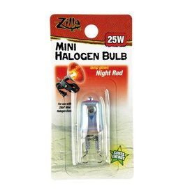 Reptiles (W) Mini Halogen Bulb - Night Red - 25 W