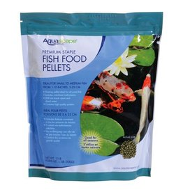 Pond (W) Premium Staple Fish Food Pellets - 1.1 lb