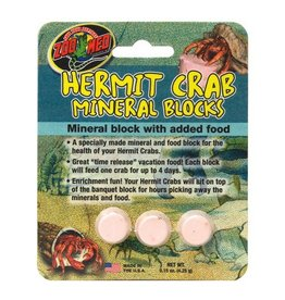 Misc. (D) Zoo Med Hermit Crab Mineral Blocks - 3 pk (LC)
