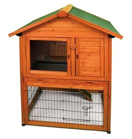 Small Animal (W) Premium Bunny Barn Rabbit Hutch