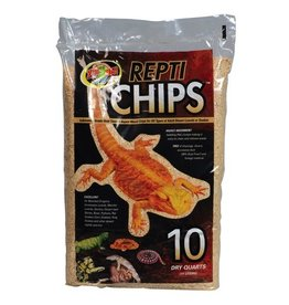Reptiles (D) Repti Chips - 10 qt (LC)