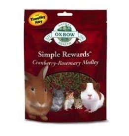 Small Animal OXBOW Simple Rewards Cranberry-Rosemary Medley