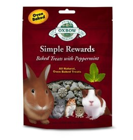 Small Animal OXBOW Simple Rewards Baked Treat Peppermint