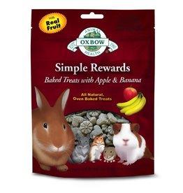 Small Animal (D) OXBOW Simple Rewards Baked Treat Apple & Banana