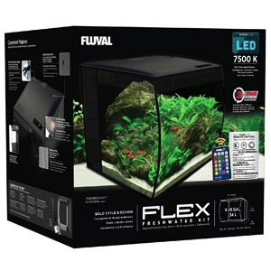Aquaria Fluval Flex Aquarium 34L, 9gal