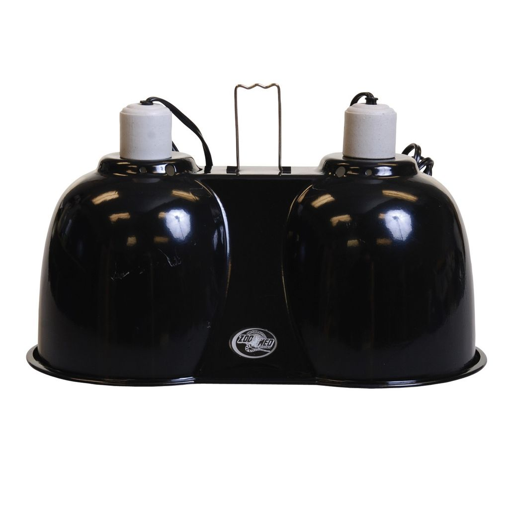 Reptiles (P) Zoo Med Combo Deep Dome Lamp Fixture - Large