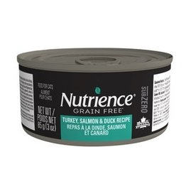 Dog & cat Nutrience Subzero Wet Food for Cats - Turkey, Salmon & Duck Recipe