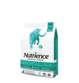 Dog & cat Nutrience Grain Free - Indoor Cat Turkey, Chicken & Duck Formula - 5 kg