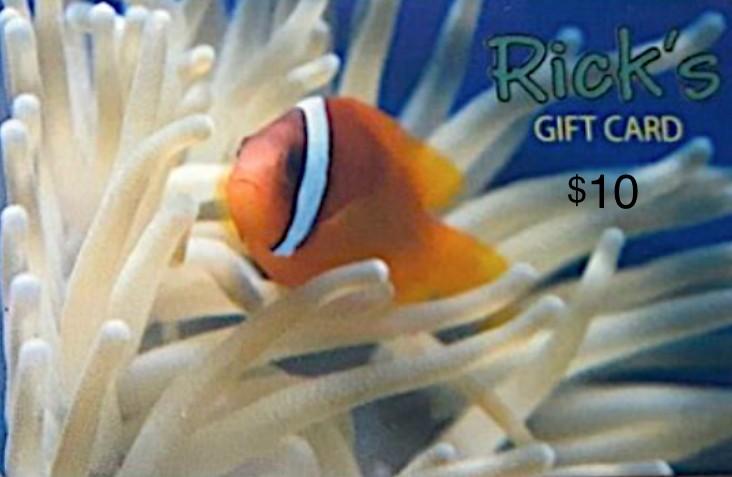Aquaria GIFTCARD $10