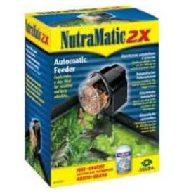 Aquaria (P) NutraMatic 2X Fish Food Feeder-V