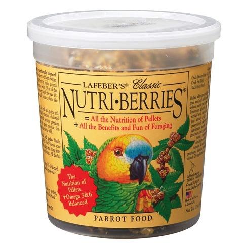 Bird Parrot Nutri-Berries 12.5 oz