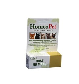 Dog & cat HOMEOPET Feline Host No More