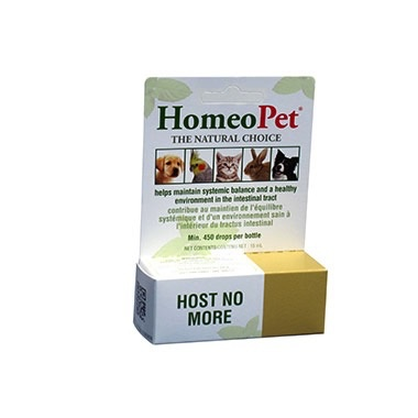 Dog & cat HOMEOPET Host No More