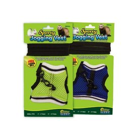 Small Animal Sporty Jogging Vest, Sm