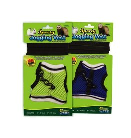 Small Animal (D) Sporty Jogging Vest, Md