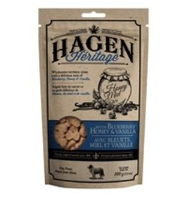 Dog & cat (W) HAGEN HERITAGE DOG TREATS BLUEBERRY HONEY & VANILLA