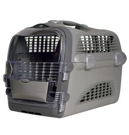 Dog & cat (W) Catit Design Cabrio Cat Multi- Functional Carrier System - Gray/Gray - 51 cm L x 33 cm W x 35 cm H (20 in x 13 in x 13.75 in)