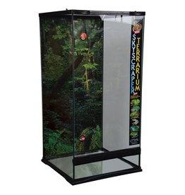 "Reptiles (W) Zoo Med Skyscraper Terrarium - 18"" x 18"" x 36"""
