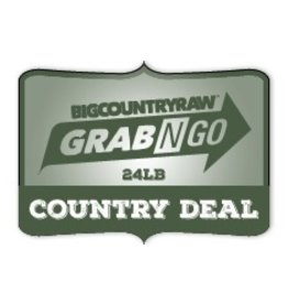 Dog & cat (W) Grab N Go COUNTRY Deal 24lb