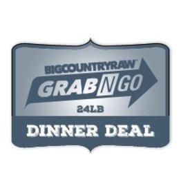 Dog & cat (W) Grab N Go DINNER Deal 24lb