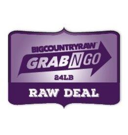 Dog & cat (W) Grab N Go RAW Deal 24lb