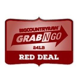 Dog & cat (W) Grab N Go RED Deal 24lb