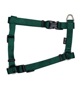 "Dog & cat Zeus Nylon Dog Harness - Forest Green - XLarge - 2.5 cm x 61-100 cm (1"" x 24""-39"")"