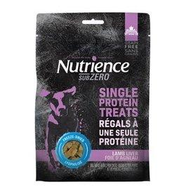 Dog & cat Nutrience Grain Free Subzero Freeze Dried Single Protein Treats - Lamb Liver - 70 g (2.5 oz)