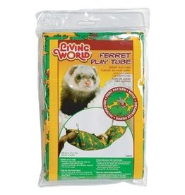 Small Animal Living World Ferret Play Tube - Green - 39 cm x 17.5 cm (15 x 7 in)