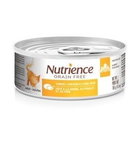 Dog & cat Nutrience Grain Free Turkey, Chicken & Liver Pâté - 156 g