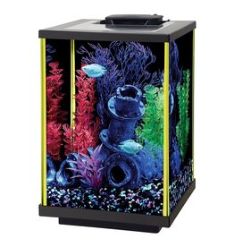 Aquaria NeoGlow Column Aquarium Kit - Lime Green - 5 gal