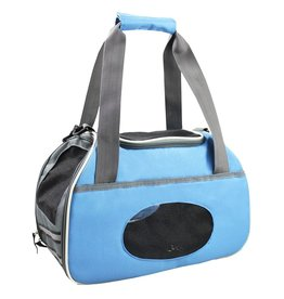 Dog & cat (P) Sport Pet Carrier - Blue
