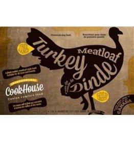 Dog & cat Cookhouse - Turkey Meatloaf