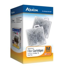 Aquaria (W) AQ Replacement Filter Cartridge - Medium - 12 pk