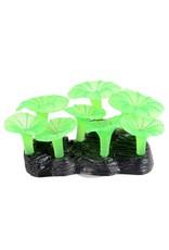 Aquaria Glowing Mushroom Reef -Green