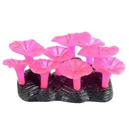 Aquaria Glowing Mushroom Reef - Pink