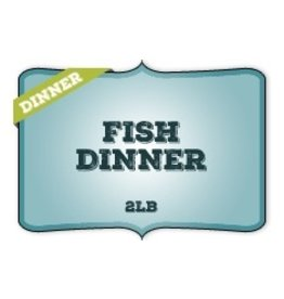 Dog & cat (W) Fish Dinner 2lb