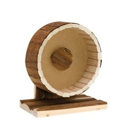 Small Animal (D) Living World TreeHouse Real Wood - Wheel (LC)