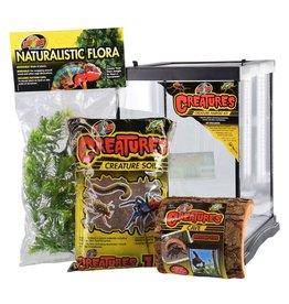 Reptiles Zoo Med Creatures Creature Habitat Kit - 3 gal