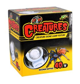 Reptiles Zoo Med Creatures Creature Dome Lamp Fixture - 40 W