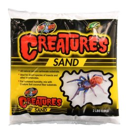 Reptiles Zoo Med Creatures Sand - 2 lb