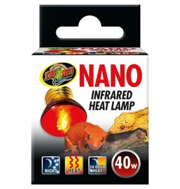 Reptiles Nano Infrared Heat Lamp - 40W