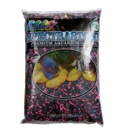 Aquaria PermaGlo Mini Gravel - Black/Pink - 5 lb