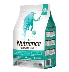 Dog & cat Nutrience Grain Free Indoor Cat – Turkey, Chicken & Duck Formula - 1.13 kg (2.5 lbs)