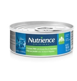 Dog & cat Nutrience Original Kitten - Chicken Pâté with Brown Rice & Vegetables - 156 g (5.5 oz)