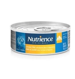 Dog & cat Nutrience Original Healthy Adult - Chicken Pâté with Brown Rice & Vegetables - 156 g (5.5 oz)