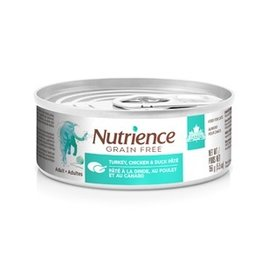 Dog & cat Nutrience Grain Free Turkey, Chicken & Duck Pâté for Indoor Cats - 156 g (5.5 oz)